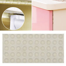 50 Soft Close Cupboard Door Adhesive Rubber Feet Pads Buffer Bumper Stop Cushion