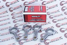"""MANLEY H-Beam Connecting Rods .8281"""" Pin For 1992-up Honda 1.6L V-Tec DOHC B16A"""