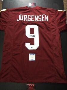 Sonny Jurgensen Redskins HOF Autographed XL Jersey Football PSA Certified