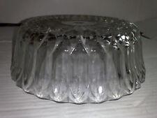 Kristallglas Deckenleuchte rund Durchmesser ca.22,7cm.