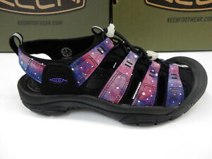 Keen Mens Newport H2 Black Purple 9.5