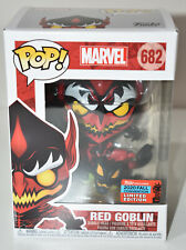 Funko Pop Marvel Red Goblin 682 NYCC 2020 Convention Exclusive LIMITED EDITION