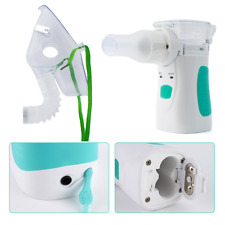 Portable Nebuliser Ultrasonic with Face Mask Accessories COPD Handheld