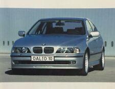 Rare Dossier De Presse 1999 BMW ALPINA B3 B10 B12 !!! D10 BITURBO