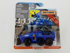 Matchbox Working Rigs Swat Tactical Rescue Vehicle