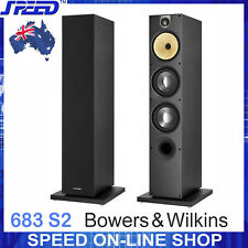Bowers & Wilkins B&W 683 S2 Floor-standing Loudspeakers -Black -Pair -Ex-Display