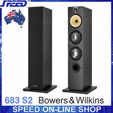 Bowers & Wilkins B&W 683 S2 Floor-standing Loudspeakers - Black - (Pair) - New