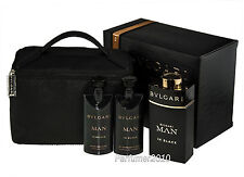 Bvlgari  Man in Black 100ml Eau de Parfum+75ml ASB+75ml Duschgel+Pouch