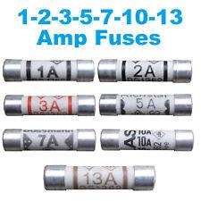 BEST QUALITY Fuses Household Domestic Plug Fuse Cartridge 1 2 3 5 7 10 13 amp