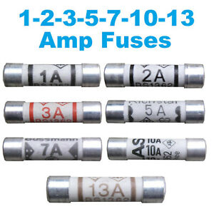 BEST QUALITY Fuses Household Domestic Plug Fuse Cartridge 1 2 3 5 7 10 13 amp