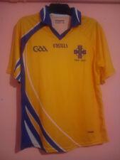 O'NEILLS IRELAND GAA SHIRT 1963 - 2013 CUMANN LUTH CHLEAS GAEL YELLOW BLUE L VGC