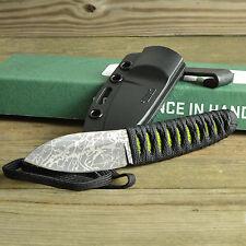 CRKT Columbia River Lucas Burnley Achi 8Cr13MoV Fixed Blade Knife 2470 + Sheath
