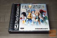 Final Fantasy IX (PlayStation 1, PS1 2000) DISC 1 & 3 ONLY + MANUAL!