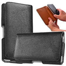 Leather Pouch Belt Clip Case Holster for LG G Stylo LS770 / G4 Stylus