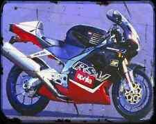 Aprilia Rsv1000R 99 3 A4 Metal Sign Motorbike Vintage Aged