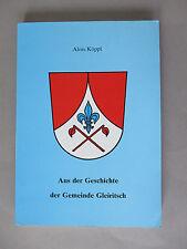Aus der Geschichte der Gemeide Gleiritsch, Alois Köppl
