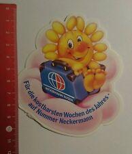 Aufkleber/Sticker: Neckermann Reisen kostbarsten Wochen des Jahres (14071625)