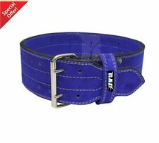 2Fit WeightLifting Nubuck Leather Power Gym Belt Back Support strapTraining SMAL