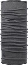 Buff Mid Merino Wool Light Grey Melange Neckwear