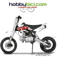 Pitbike BSE Sport 125cc enduro moto cross Viky Italy colore bianca