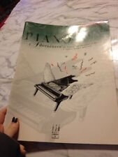Piano Adventures Nancy Faber Lesson book 5 Paperback Basic piano method