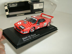 1/43 BMW M1 PROCAR GS #80 TEAM BASF H.J. STUCK 1980 by MINICHAMPS