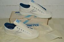 NEAR MINT 80s Vtg TRETORN Sneakers Tennis Shoes USA MADE Mens 10.5 DEADSTOCK