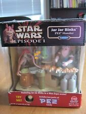 STAR   WARS  PEZ HANDER EPISODE 1 : JAR  JAR  BINKS in a MOS  ESPA  SCENE!