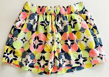 Crewcuts Girls Shorts 14 Cotton Neon Pink Yellow Gray Navy Elastic Waist Pockets