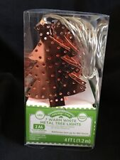 Christmas Tree Lights - Copper - Battery Operated (NEW)