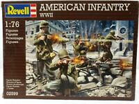 Revell 1:76 US American Infantry WWII 49 Building Figures 02599 Scale Model Kit