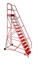 Industrial Mobile Safety Warehouse Steps