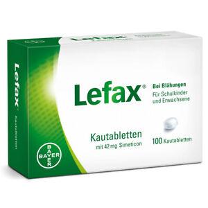 LEFAX Kautabletten 100 St PZN:00622109