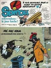 JOURNAL DE SPIROU N°2133 . 1979 . + PLAN DE CHAMPIGNAC . ( 341 ) .