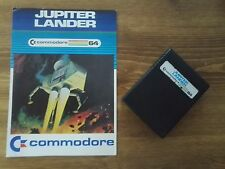 Jupiter Landing Commodore  - Cartridge Commodore 64 128 GS Games System