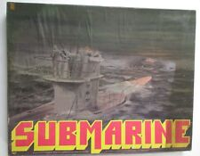 VINTAGE 1977 SUBMARINE GAME BY AVALON HILL mostly UNPUNCHED