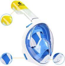Realdios Snorkeling Mask, 180° Viewing Gopro Silicone Diving Mask, Swimming Mask
