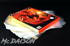 McDAISON - 100 BUSTE copertine trasparenti custodie film DVD giochi