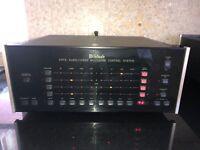 Perfect McIntosh CR-12 CR12 Audio/Video Multizone Pre Amplifier Control System