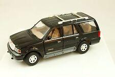 1998 Lincoln Navigator Black Model Car SUV 1:24 Diecast Toy