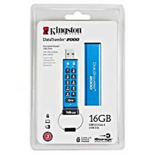 Kingston DT2000/16GB USB 3.1 Flash Drive 16gb DataTraveler 2000 Japan Tracking