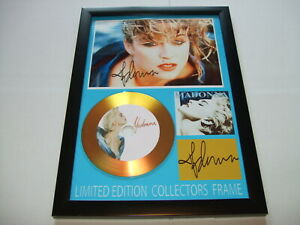 MADONNA   SIGNED GOLD CD   DISC   NEW 3