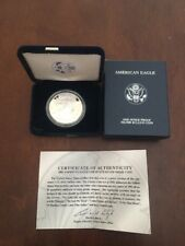PROOF 2006-W Silver Eagle in MINT Box w/COA