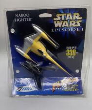 Estes Naboo Fighter Flying Action Model Rocket -Star Wars Episode 1 NEW