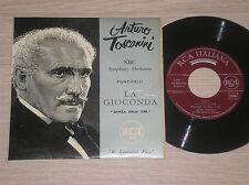"""ARTURO TOSCANINI (PONCHIELLI) - LA DANZA DELLE ORE - 45 GIRI 7"""" ITALY"""