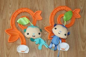 Fisher Price Tiger Time Jumperoo Hanging Monkey Toy Replacement Part FVR21