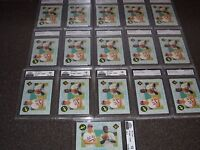 (16) 1991 Classic Chipper Jones Rookies RC HOF Graded 10 GEM MINT Not PSA BGS