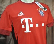 Bayern Munchen Shirt Home 2015-2016, sz Medium*Adult (New) with Vynil, Very Rare