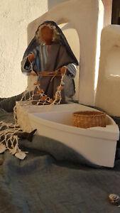"""Biblische Erzählfiguren """" Apostel Andreas mit Boot """""""