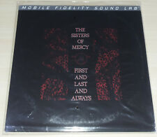 LP SISTERS OF MERCY - FIRST AND LAST AND ALWAYS - NUMBERED - MFSL - NUOVO NEW